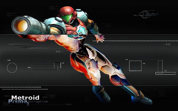 Metroid Prime 3 Samus wallpaper