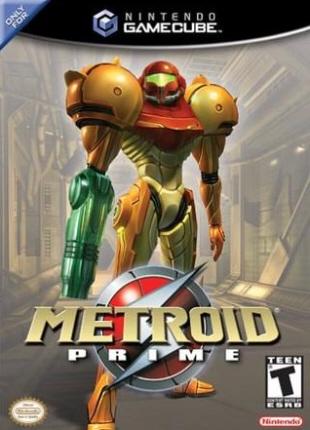 Metroid Prime box artwork (American)