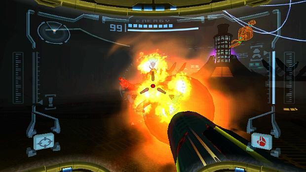 Metroid Prime Enemy Screenshot
