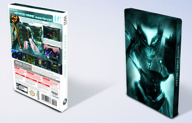 Metroid Prime Trilogy American Boxart Backside