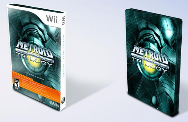 Metroid Prime Trilogy box artwork (American version)