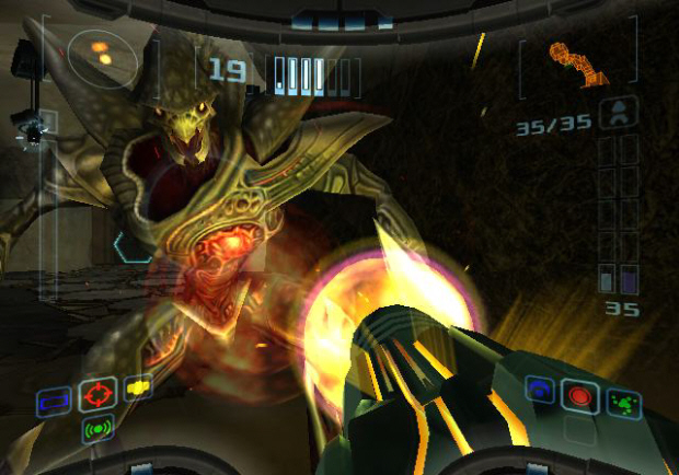 Metroid Prime Trilogy Echoes Screenshot