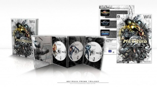 Metroid Prime Trilogy Japanese Boxart