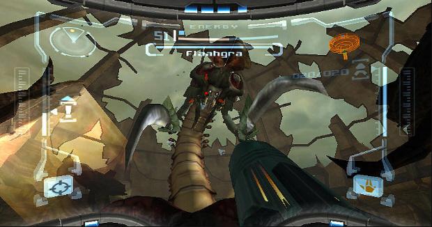 Metroid Prime Trilogy screenshot (Prime 1)