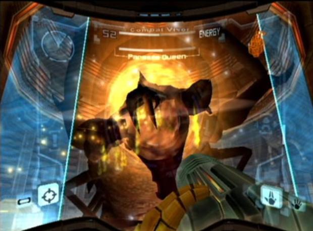 Metroid Prime Trilogy screenshot (Prime 1 Boss)