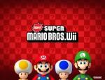 New Super Mario Bros. Wii cast wallpaper