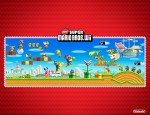 New Super Mario Bros. Wii Friends and Foes wallpaper