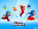 New Super Mario Bros. Wii Power-Ups Wallpaper