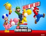 New Super Mario Bros. Wii Yoshi Wallpaper