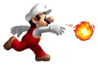 Fire Mario New Super Mario Bros Wii artwork