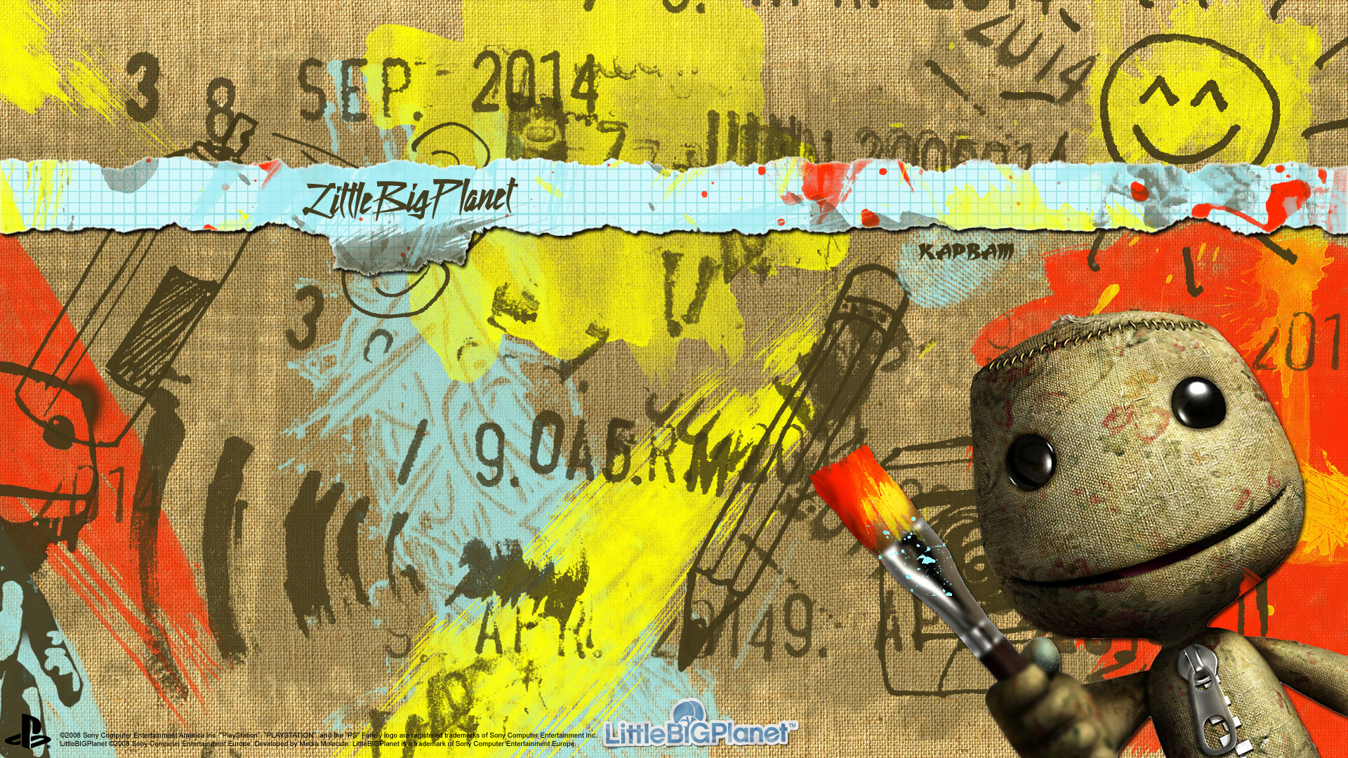 Little Big Planet Wallpaper: LittleBigPlanet Wallpaper