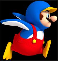 Penguin Suit New Super Mario Bros Wii artwork