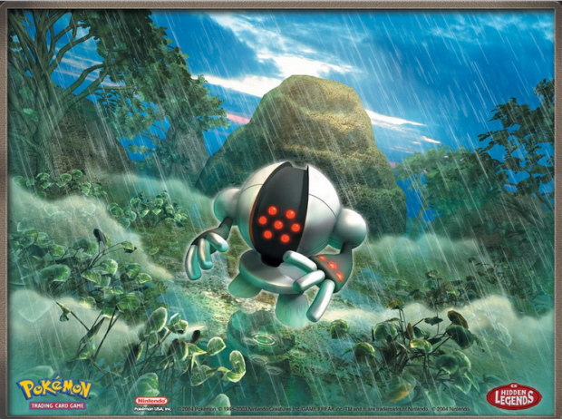Registeel Legendary Pokemon artwork