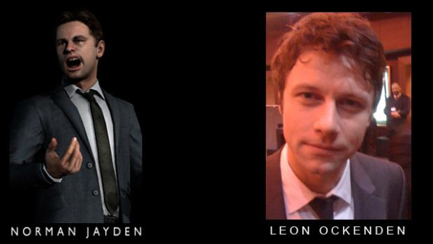 Norman Jayden played by Leon Ockenden in Heavy Rain