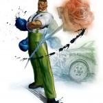 Super Street Fighter 4 Dudley Rose wallpaper