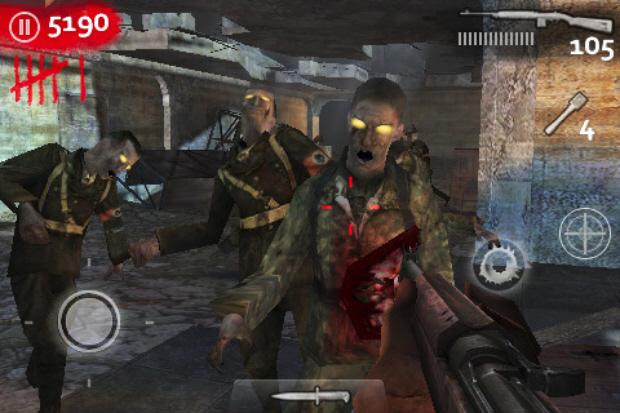 Call of Duty: World At War Zombies iPhone/iPod Touch/iPad cheats screenshot