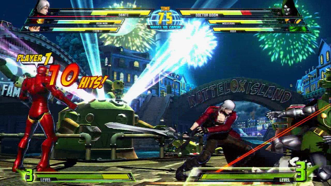 Ultimate Marvel vs. Capcom 3 Characters - 281.3KB
