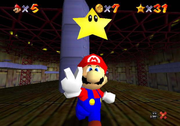 Image result for super mario 64 star