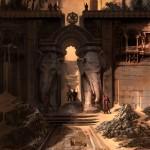 Prince of Persia Forgotten Sands wallpaper castle
