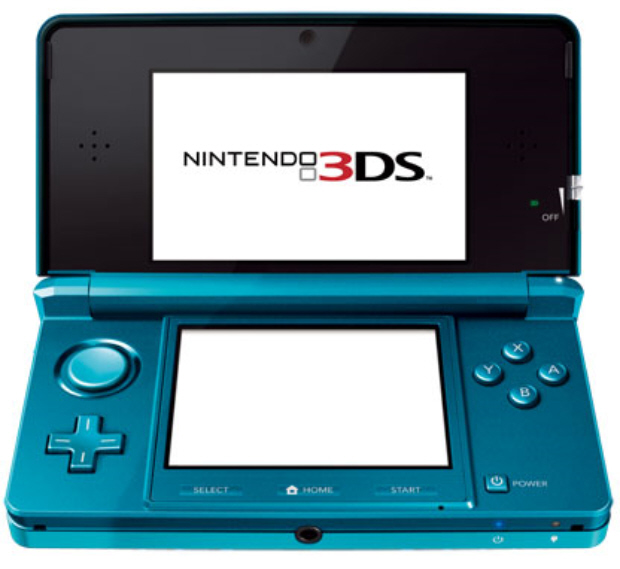 3DS blue color announced at Nintendo E3 press conference and details