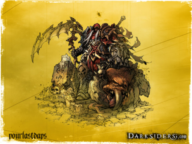Darksiders 2 release date is 2012 announces THQ