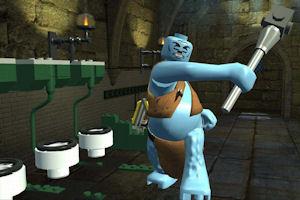 Lego Harry Potter Ogre fight screenshot