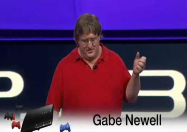 Portal 2 Steamworks PS3 announced by Gabe Newell at E3 2010