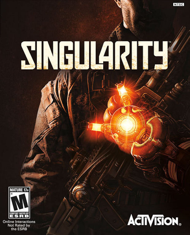 Singularity walkthrough videogame boxart