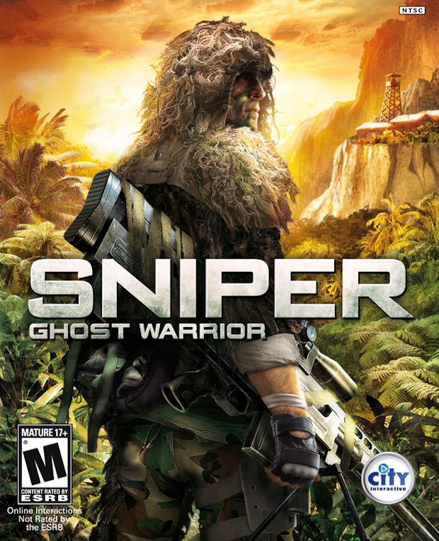 Sniper Ghost Warrior walkthrough videogame boxart