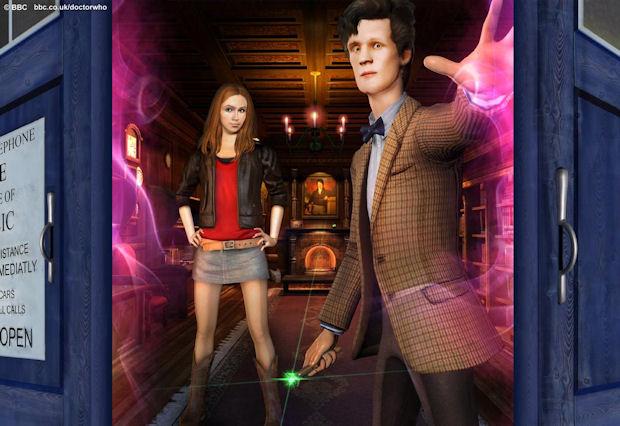 Doctor Who: TARDIS walkthrough game image
