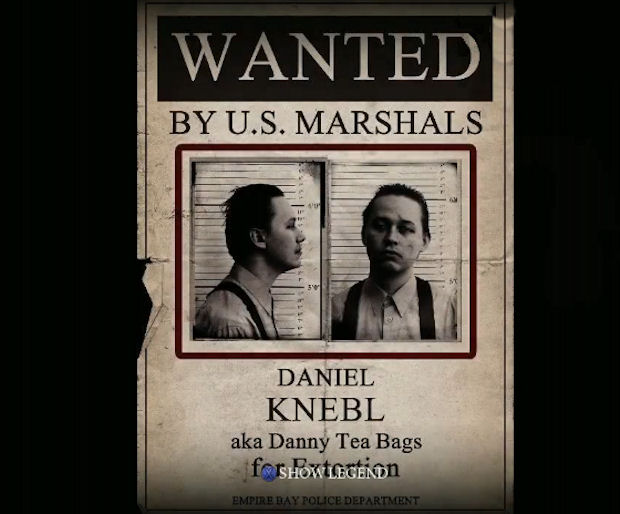 Mafia 2 Wanted Poster screenshot