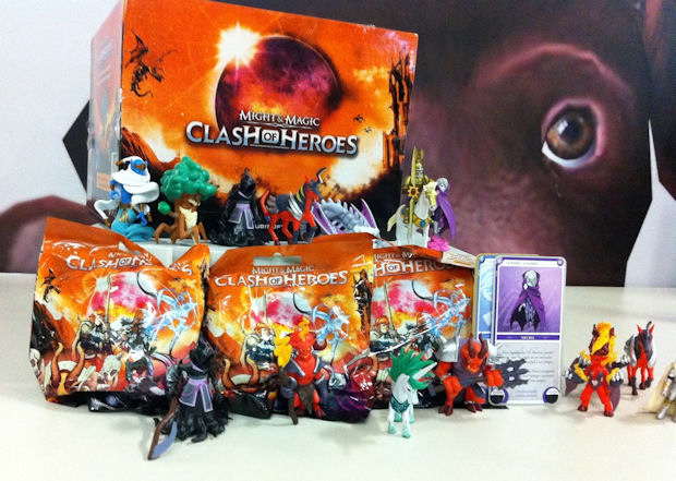Win these Might & Magic Heroes Kingdoms figurine packages