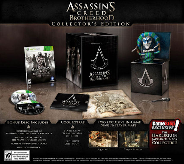 Win a Assassin's Creed: Brotherhood Collector's Edition