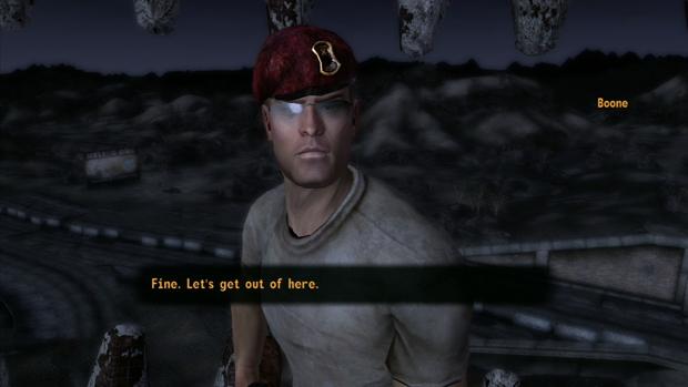 Fallout New Vegas Companion Boone Location Screenshot