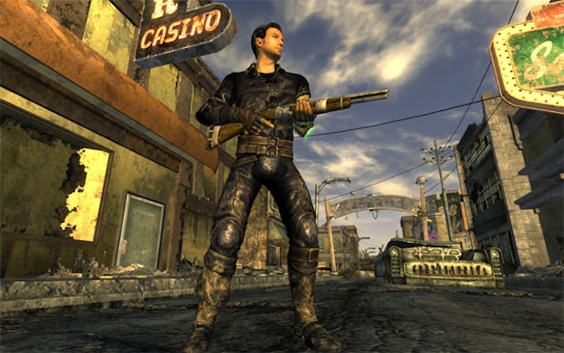 Fallout: New Vegas weapon holding screenshot