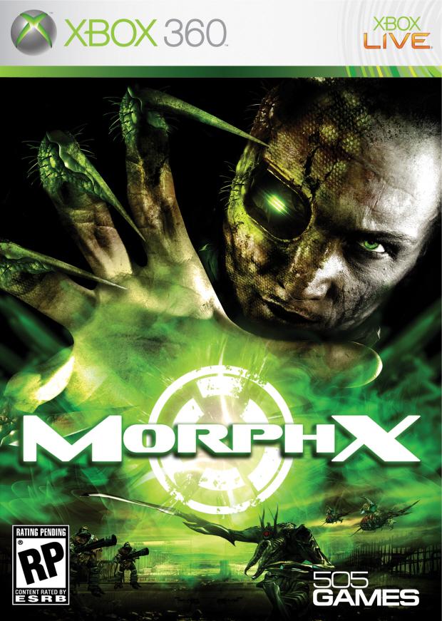 Morph-X walkthrough box artwork