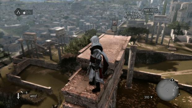 Assassins Creed Brotherhood Borgia Flag Location 1 Screenshot for the Xbox 360 and PS3