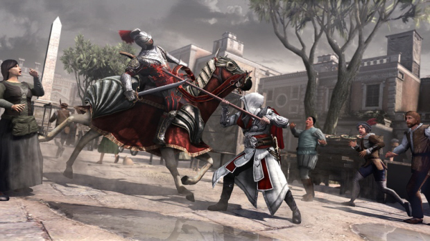 Assassin's Creed: Brotherhood fighting screenshot