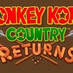 Donkey Kong Country Returns wallpaper logo