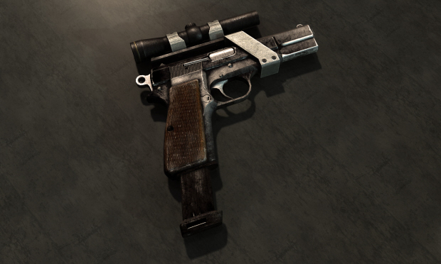 Fallout: New Vegas weapon mod guide screenshot 9mm Pistol