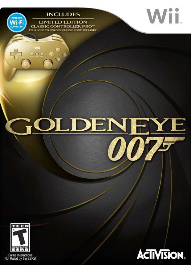 GoldenEye 007 Wii walkthrough box artwork