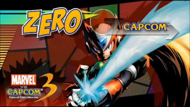 Marvel VS Capcom 3 Zero debut gameplay artwork