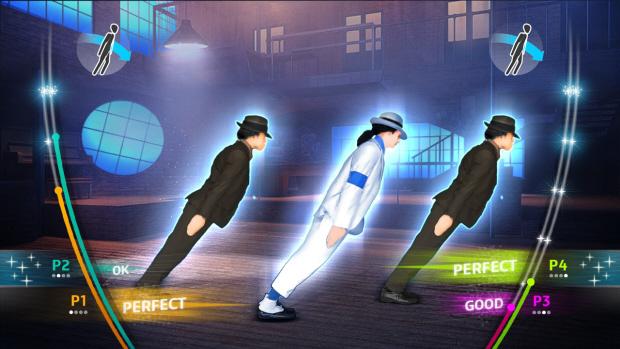 Michael Jackson: The Experience Smooth Criminal Lean screenshot