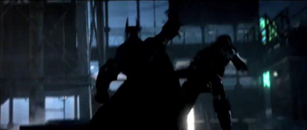 Batman: Arkham City screenshot glimpse of the Bat