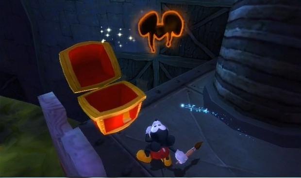 Disney Epic Mickey pin location screenshot