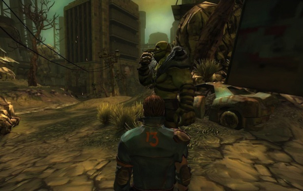 Fallout MMO screenshot