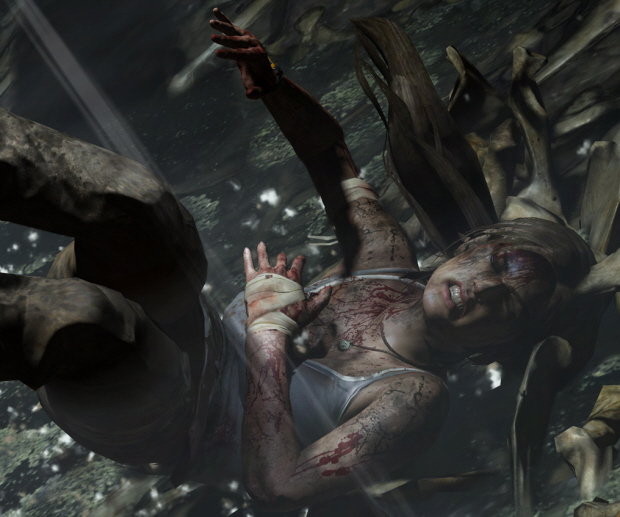Lara Croft 2011 wallpaper - Facial Expressions of Pain
