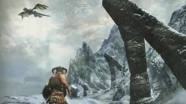 Skyrim screenshot gameplay (Xbox 360, PS3, PC)
