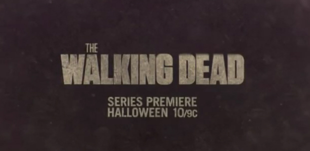 The Walking Dead series premier banner