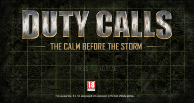 Duty Calls Bulletstorm parody screenshot